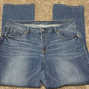 Women's Old Navy Jeans. Curvy Profile.